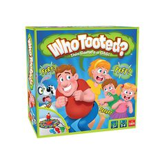 Do you have someone in your life who likes Poker and farting?  Then this is the game for them!  Created by local legend, Andy Breckman!   #whotooted #boardgames