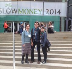 Courtney, Meghan, and Chris checked out other local investing models around the country at the 2014 Slow Money conference, all the way out in Louisville Kentucky!