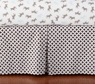 Levi Crib Bed SkirtNby PB Kids