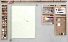 Se Photoshop fosse una scrivania reale. :-)