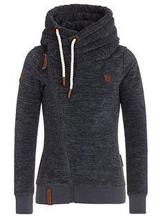 Fall Zipper Casual Turtleneck Plus Size Women's Hoodie Turtleneck Sweatshirt, Unique Hoodies, Fashion Outfits, Womens Fashion, Fall Fashion, Unique Fashion, Streetwear, Plus Size Women, Types Of Sleeves