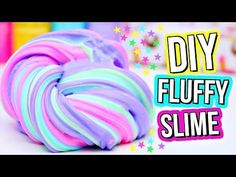 DIY FLUFFY SLIME! How To Make The BEST Slime! - YouTube