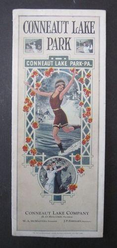 1920's Brochure from Conneaut Lake Park