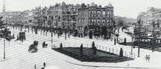 1938 vanuit de Schiebroekselaan links de Bergselaan, rechts de Berkelselaan