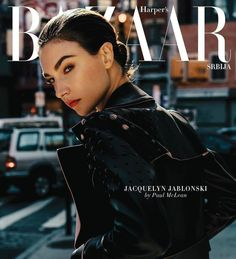 Harper's Bazaar Serbia January 2017 Jacquelyn Jablonski by Paul McLean
