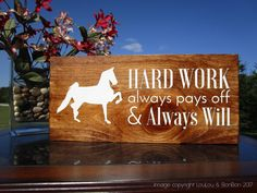 Horse Sign | Horse Gift | Equine Sign | Equestrian Lessons |Saddlebred | Equestrian Gift | Equestrian Decor | Equestrian Life | Equestrian Goals  Horseback Riding | Horse Presents | Horse Items | Barn Sign | Equestrian Horse Shop by LouLouandBonBon on Etsy
