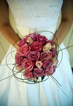 Dusty pink roses. Get the complete guide on all things floral right here: http://www.i-do.com.au/wedding-tips/wedding-flowers-and-bridal-bouquets/?utm_source=pinterest&utm_medium=organic&utm_campaign=general&utm_term=wedding_flowers #wedding #bouquet #rosebouquet