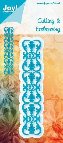 Joy! Crafts - NOOR Design - 6002-0133 - Border Fleur-de-LysDiesen måler ca 24 x 130 mm