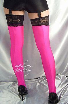 Garter Belts Fancy 100 Inch Iridescent Foil Leg Strap Attached Garter Clubwear Adult Women