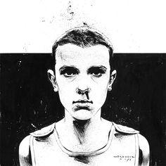 Stranger Things - Eleven by Riccardo Drumond