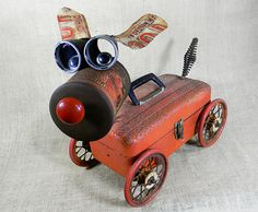 Recycled Robot Sculptures by Will Wagenaar | Inspiration Grid | Design Inspiration