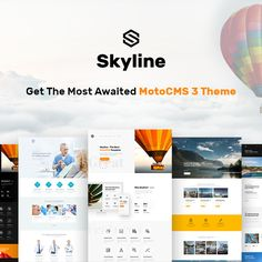 Prepare to Be Glued to Your Screens! Because It is a New #BusinessWebsite Template Masterpiece that #MotoCMS is About to Show You Very Soon - https://www.templatemonster.com/blog/skyline-business-website-template-motocms/?utm_source=pinterest_cpc&utm_medium=tm&utm_campaign=skyline