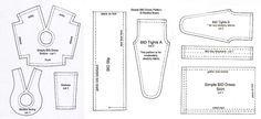 Simple BID Dress Pattern - Tutorial - Antique Lilac free