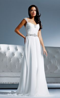 Style: B116 - Olivia is a designer gown from the Faviana Bridal collection