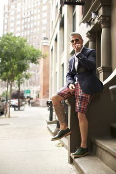 Nick Wooster via The Style Blogger