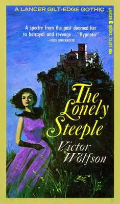Gothic Novel Cover Gothic 1, Gothic Books, Vintage Gothic, The Spectre, Dark Books, Stormy Night, Art File, Pulp Fiction, Romance Novels