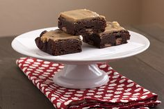 Mexican Brownies with Brown Sugar Glaze from handletheheat.com - cinnamon
