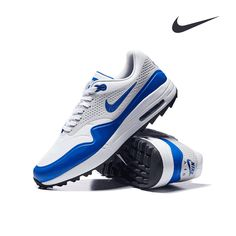 "NEW IN 💙🏌🏼‍♂️💯 Nike Golf AIR MAX ""Game Royal / Neutral Grey"" are now available at eGolf Al Wasl S.C. store & online⛳️. • ... #Nike #NikeGolf #AirMax1G #NikeRoyal #golfkicks #NikeAirMax #golfshoes #nikeshoes #nikefootwear #nikegolfclub #golfshopdubai #golfaddict #golfoutfit #teamnike #golfstyle #golfwear #golfinDubai #golf #eGolfDubai #eGolf #eGolfMegastore"