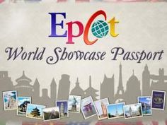 DIY Epcot Passport templates - This Photobucket site has lots of great DIY passport, autograph, journal and activity pages - Printable & free