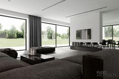 PABIANICE House (Poland) on behalf – Home Interior Design – decorationtrends Luxury Home Decor, Luxury Interior, Luxury Homes, Modern Interior, Home Room Design, Home Interior Design, Living Room Designs, Living Room Interior, Home Living Room