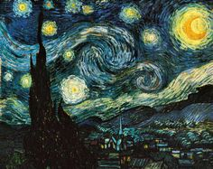 Vincent Van Gogh - Die Sternennacht.