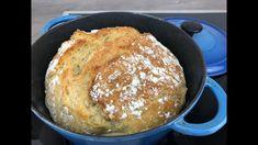 No Knead Bread, Sourdough Bread, Bread Recipes, Cooking Recipes, Fruit Cobbler, Bread Rolls, Bread Baking, Baked Goods, Breakfast Recipes
