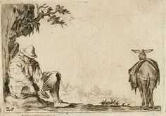 Artist Callot, Jacques | French | 1592-1635. Creation date 1618-1621. Credit line Gift of Mr. T. Victor Keene. Courtesy: Indianapolis Museum of Art, Indianapolis, Indiana (USA)