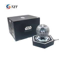 118.00$  Watch now - http://alitm4.worldwells.pw/go.php?t=32784903965 - Original Star Wars Death Star Maglev Bluetooth Wireless Stereo Rotating 360 Degree Speakers Magnetic Levitation Sound 118.00$