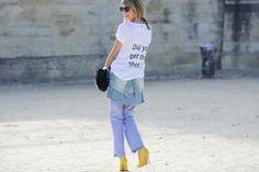 People in Paris , Way of Life seen on #TrendsCollezioni 111 www.logos.info #streetwear