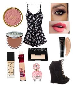 """""""Lots of makeup"""" by laurenisthebest08 on Polyvore featuring beauty, Liliana, Milani, Urban Decay, NARS Cosmetics, Maybelline and Marc Jacobs"""