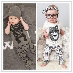 Hipster Baby 2 piece set - Short Sleeve
