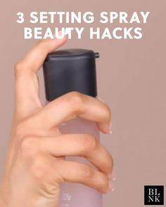 3 Setting Spray Beauty Hacks – Howe To Make Make-Up Design Diy Beauty, Beauty Skin, Beauty Hacks, Beauty Ideas, Beauty Tips, Gold Makeup, Eye Makeup, Diy Makeup Setting Spray, Make Up Designs