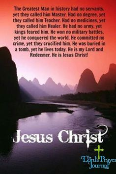 Jesus Christ, my Lord, my Healer, my Redeemer, my King! Biblical Quotes, Religious Quotes, Bible Verses, Scriptures, Bible Bible, Catholic Quotes, Scripture Quotes, Jesus Quotes, Faith Quotes