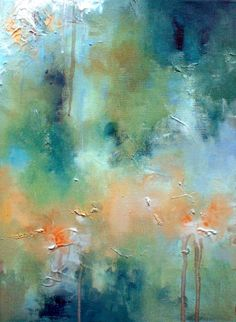Icy - original abstract oil painting