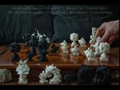 Check out Surreal Chess Set - My Masterpieces -  Bishop II by MANDELWERK on Shapeways and discover more 3D printed products in Board games.