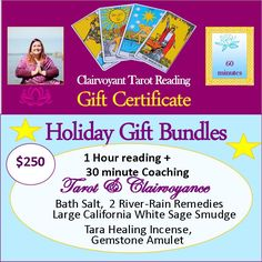 Holiday Bundle Deluxe - 1 Hour Reading + 30 Minute Coachinghttps://www.pinterest.com/catharine33/