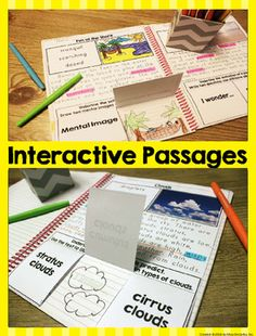Interactive Reading Passages - Perfect for first graders and struggling second grade readers