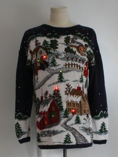 select for clearance colours and striking Discover 115 Best Bad Christmas jumper images in 2019   Bad christmas ...