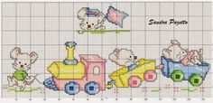 This Pin was discovered by Kri Cross Stitch For Kids, Cross Stitch Borders, Cross Stitch Baby, Cross Stitch Charts, Cross Stitch Designs, Cross Stitching, Cross Stitch Embroidery, Embroidery Patterns, Cross Stitch Patterns