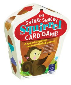 Another great find on #zulily! Sneaky Snacky Squirrel Card Game by Educational Insights #zulilyfinds