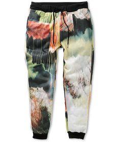Elwood Art Fleece Skinny Jogger Pants @zumiez