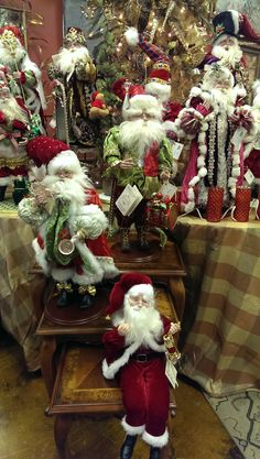 Santa Clause signature collection is By Mark Roberts