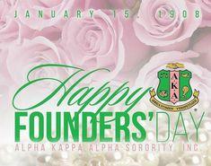 Aka Sorority Gifts, Sorority Life, Sigma Gamma Rho, Alpha Kappa Alpha Sorority, Founders Day, Alpha Female, Girls World, Pink And Green, Cards
