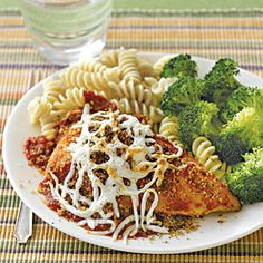Crowd-pleasing cheese recipes | Skillet Chicken Parmesan | AllYou.com