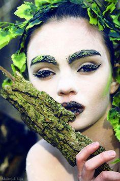 beautiful phto shoot mother nature makeup