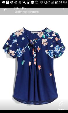 I could use more blouses like this