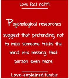 Love facts / So true…