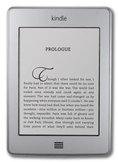 Kindle Touch e Kindle Touch 3G