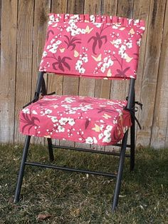 Folding Chairs Wedding Chair Pinafore Diy Seat Covers