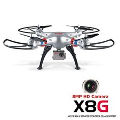 Syma X8G 24G 4CH With 8MP HD Camera Headless Mode RC Quadcopter